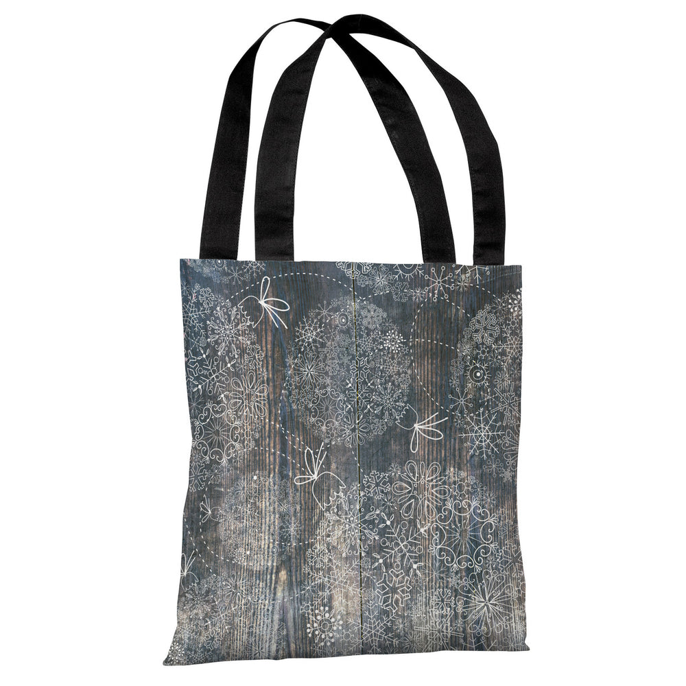Ornaments Etched On Wood - Multi Tote Bag by OBC