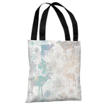 Glittered Reindeer - Multi Tote Bag by OBC