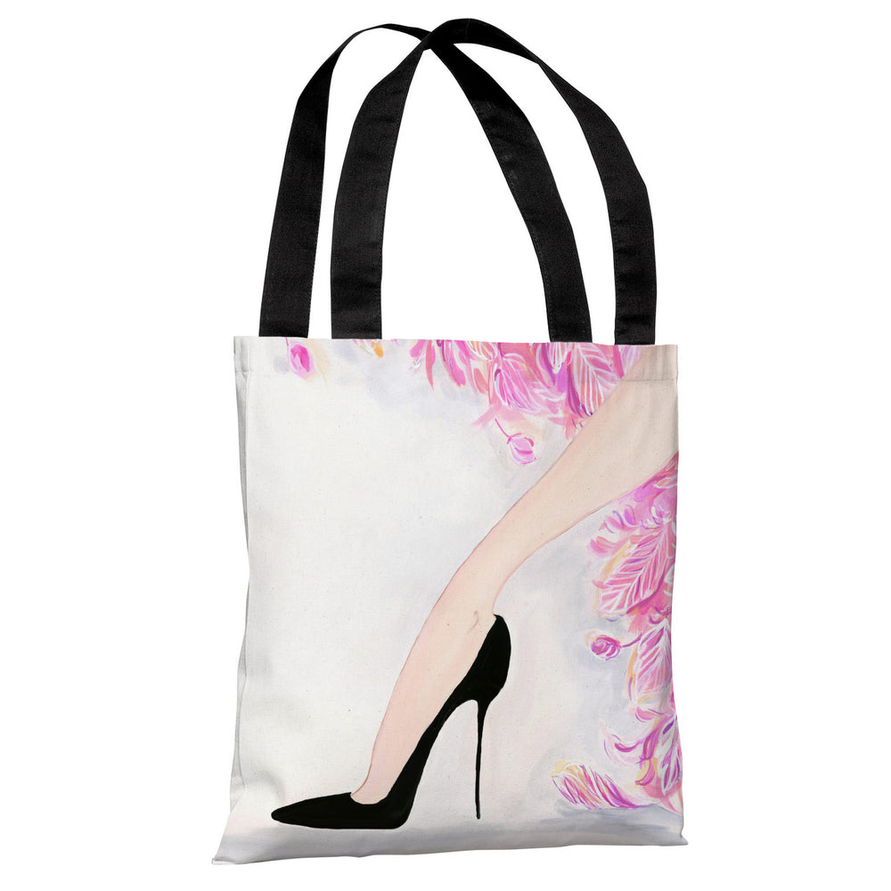Stilettos Feathers 1 - Multi Tote Bag by April Heather Art