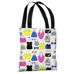 Style File 23 - Multi Tote Bag by April Heather Art