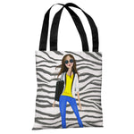 Style File 4 - Multi Tote Bag by April Heather Art