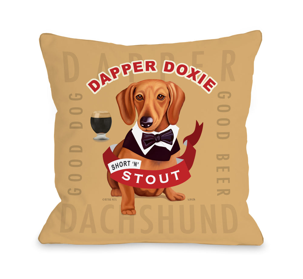 Dapper Doxie2 - Tan Multiby OneBellaCasa Affordable Home D_cor