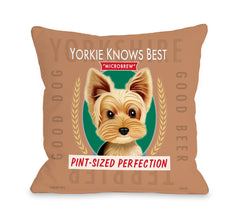 Yorkie Beer - Brown Multiby OneBellaCasa Affordable Home D_cor