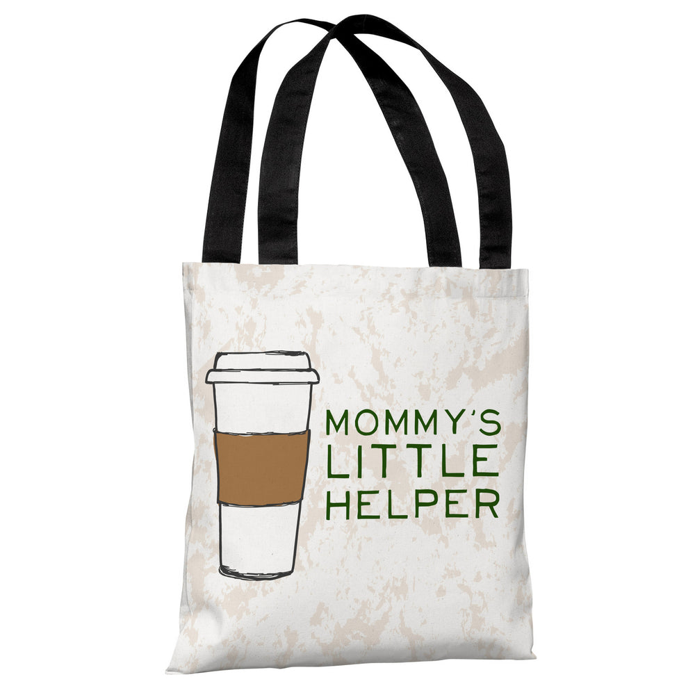 Mommy's Helper - Ivory Multi Tote Bag by OBC