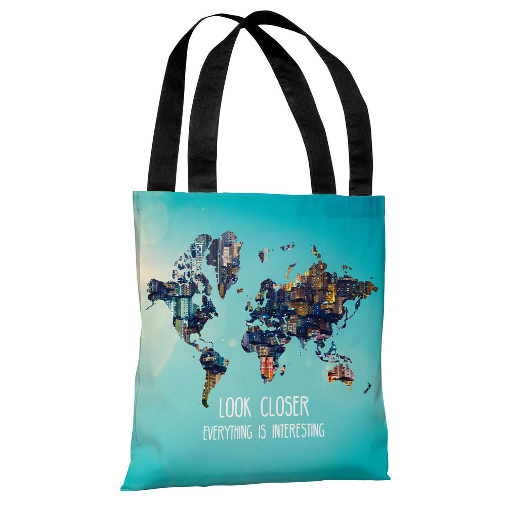 Everything is Interesting - Multi Tote Bag by OBC