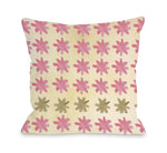 Christmas Spirit Stars - Multi Throw Pillow by OBC