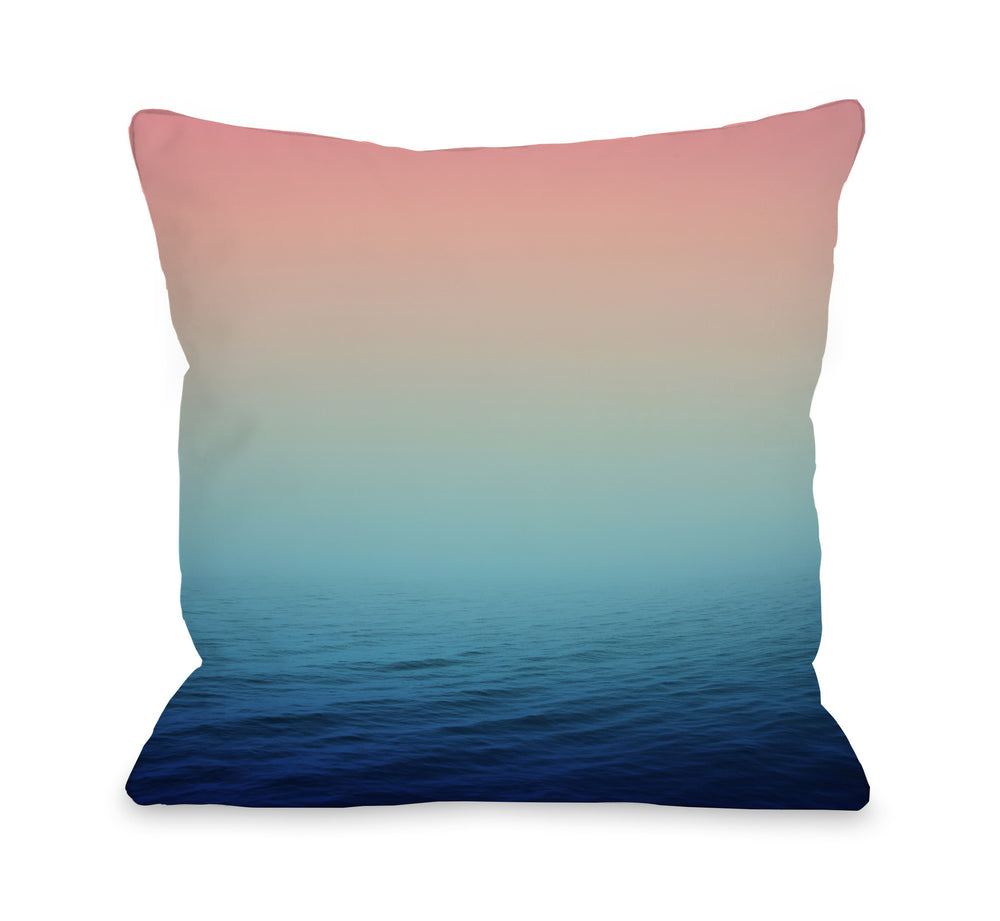 Deep Sea - Multi Outdoor Throw Pillow by OBC