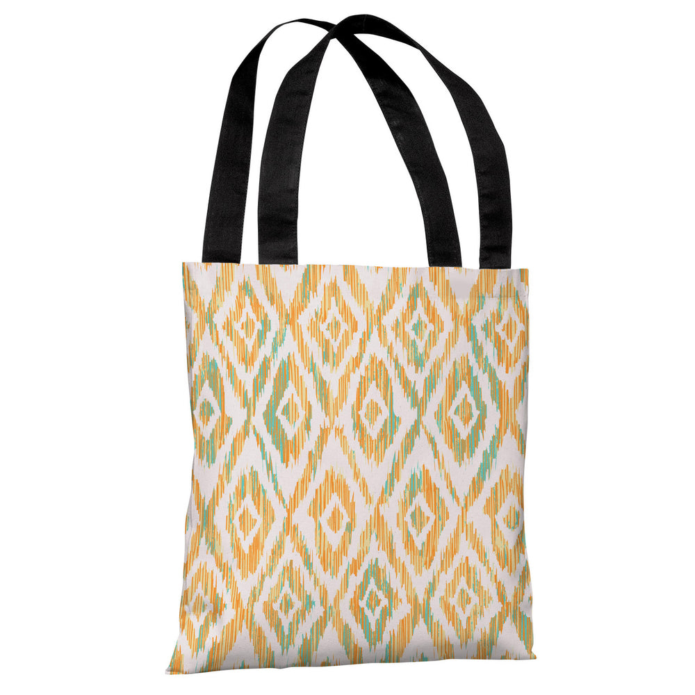 Melona - Cream Orange Multi Tote Bag by OBC