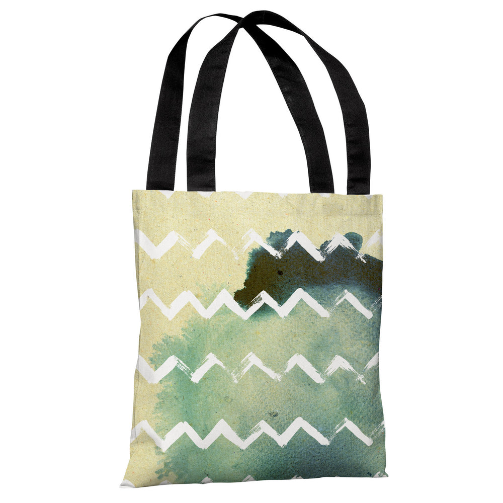 Strippy - Multi White Tote Bag by OBC