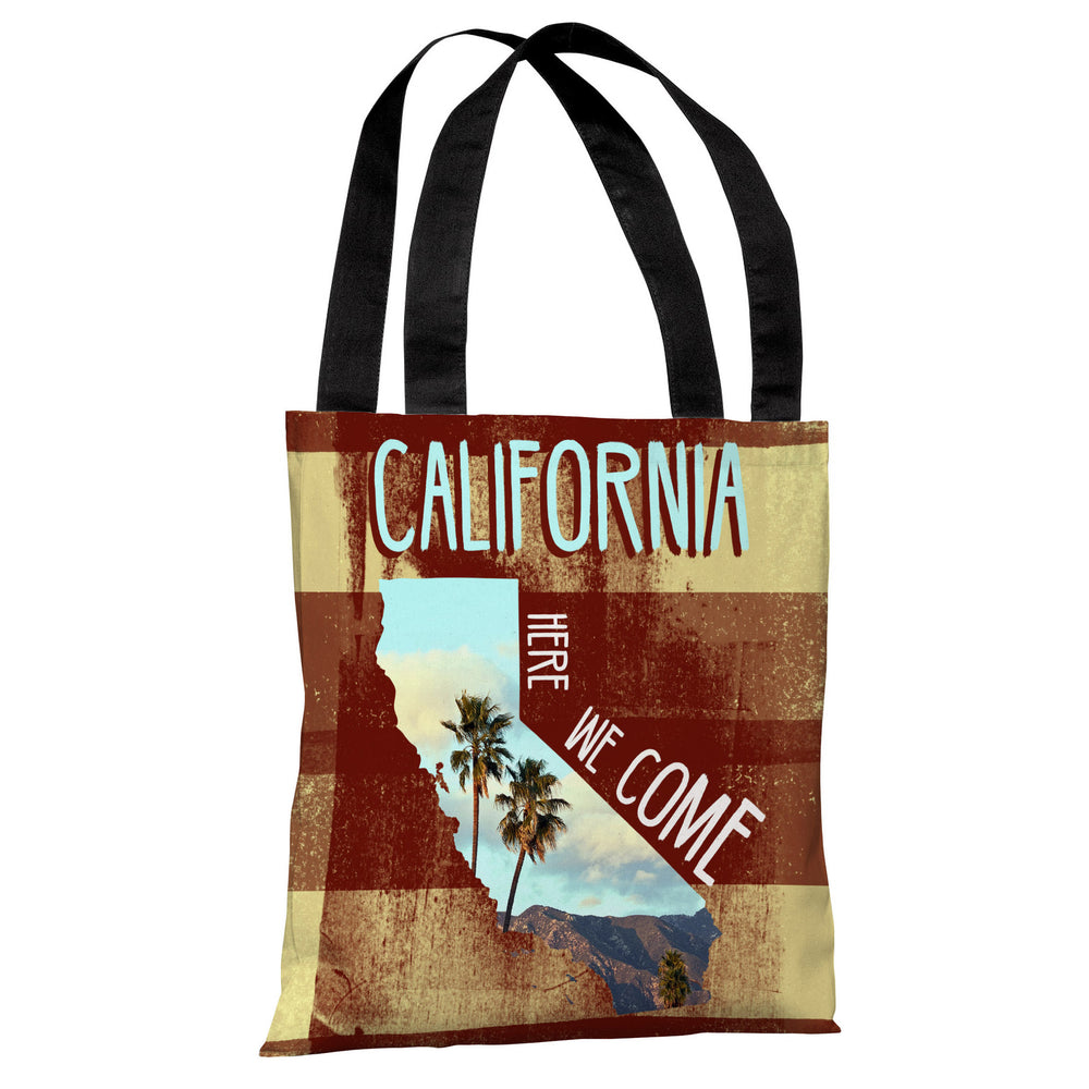 California Here We Come - Multi Tote Bag by OBC