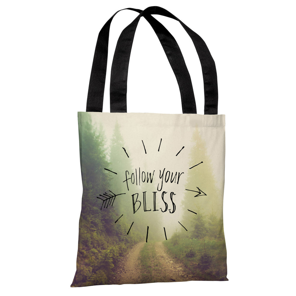 Follow Your Bliss - Multi Tote Bag by OBC