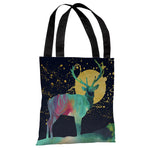 Moon Deer - Multi Tote Bag by OBC