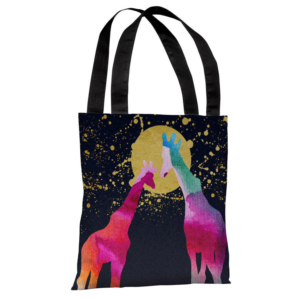 Moon Giraffes - Multi Tote Bag by OBC