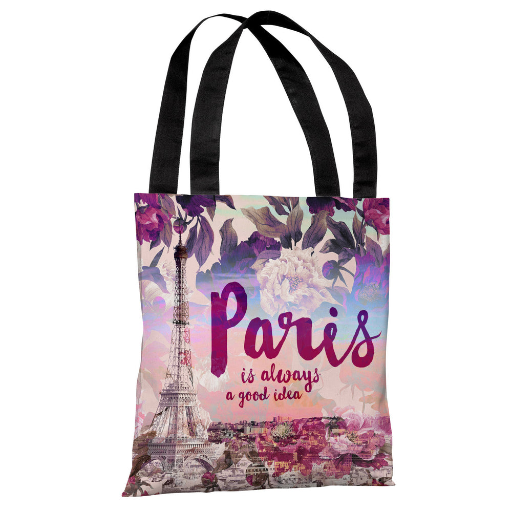 Paris is a Good Idea - Multi Tote Bag by OBC