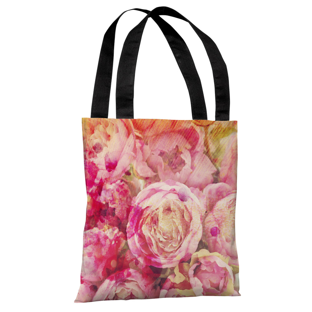Peony Dreams - Multi Tote Bag by OBC