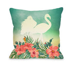 Meigan - Multi Throw Pillow by OBC