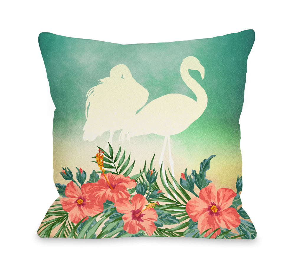 Meigan - Multi Outdoor Throw Pillow by OBC