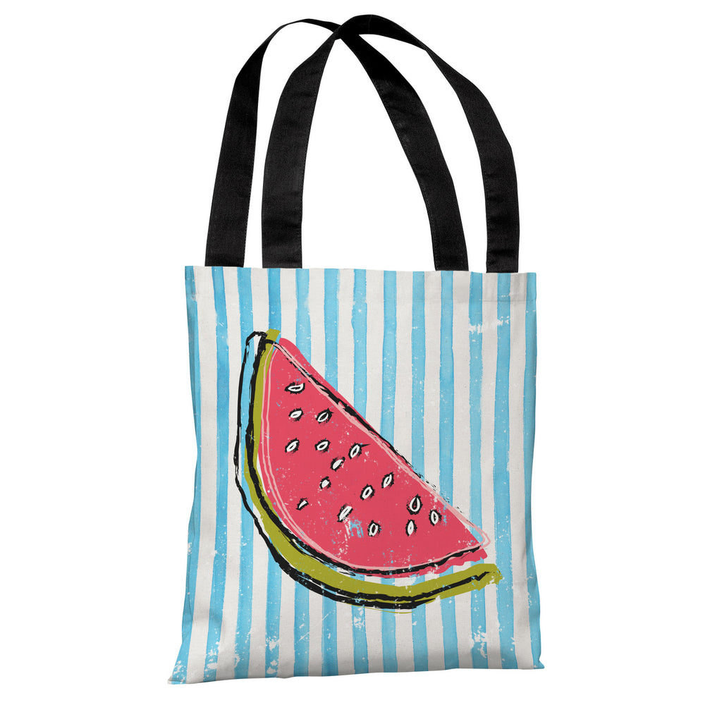 Whatthemelon - Blue Multi Tote Bag by OBC