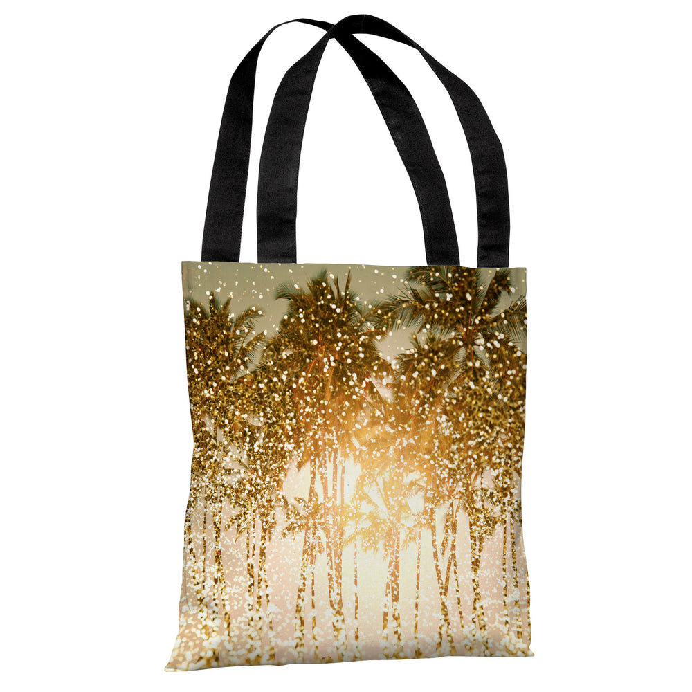 Sparkly Summer - Yellow Multi Tote Bag by OBC