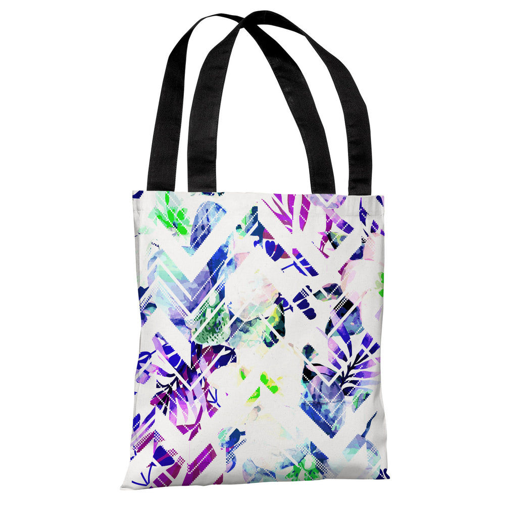 Stand By - Multi White Tote Bag by OBC