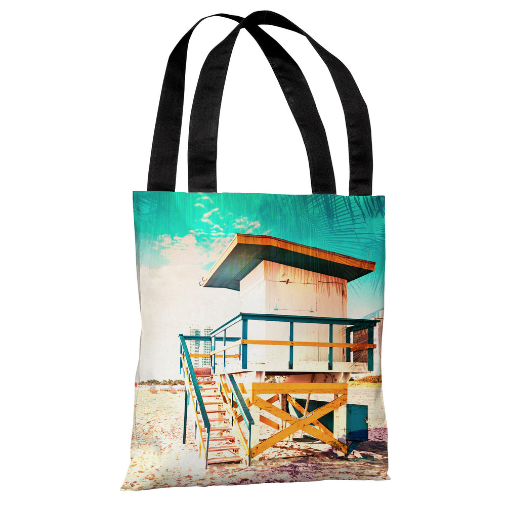 By The Beach - Multi Tote Bag by OBC