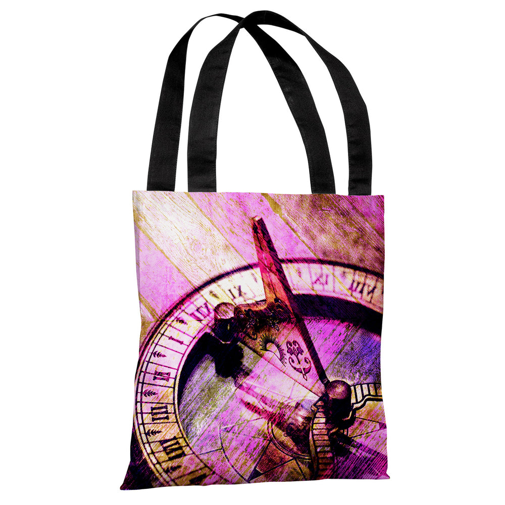 Compass 2 -Pink Multi Tote Bag by OBC