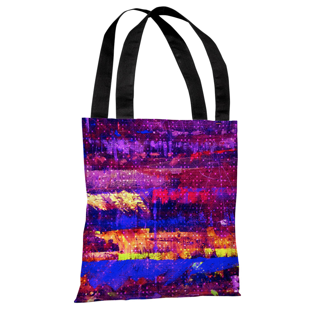 Connect The Dots - Multi Tote Bag by OBC