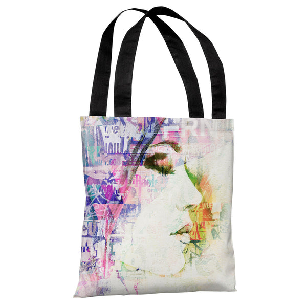Heart Wide Open - White Multi Tote Bag by OneBellaCasa.com