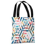 Intragarden - White Multi Tote Bag by OBC
