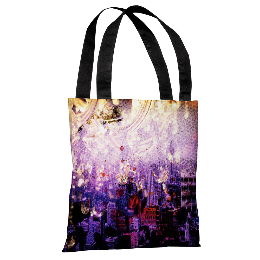 Light Up The City - Multi Tote Bag by OBC