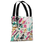 Pine Trees Geo 2 - Multi Tote Bag by OBC