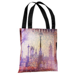 Strolling In The Promenade - Multi Tote Bag by OBC