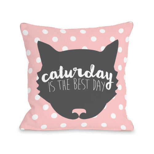Caturday Is The Best Dayby OneBellaCasa Affordable Home D_cor