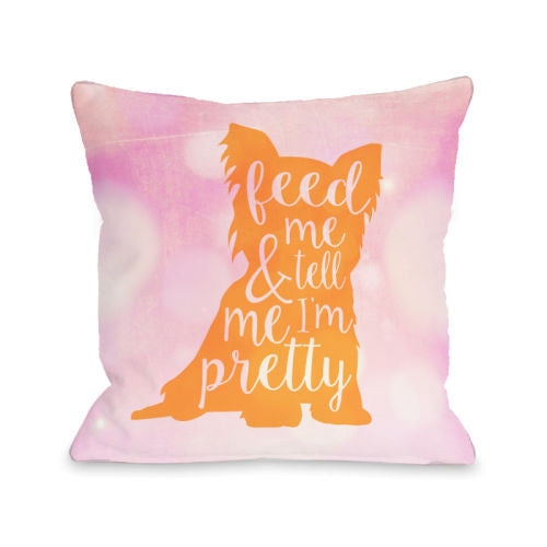 Feed Me And Tell Me Im Prettyby OneBellaCasa Affordable Home D_cor