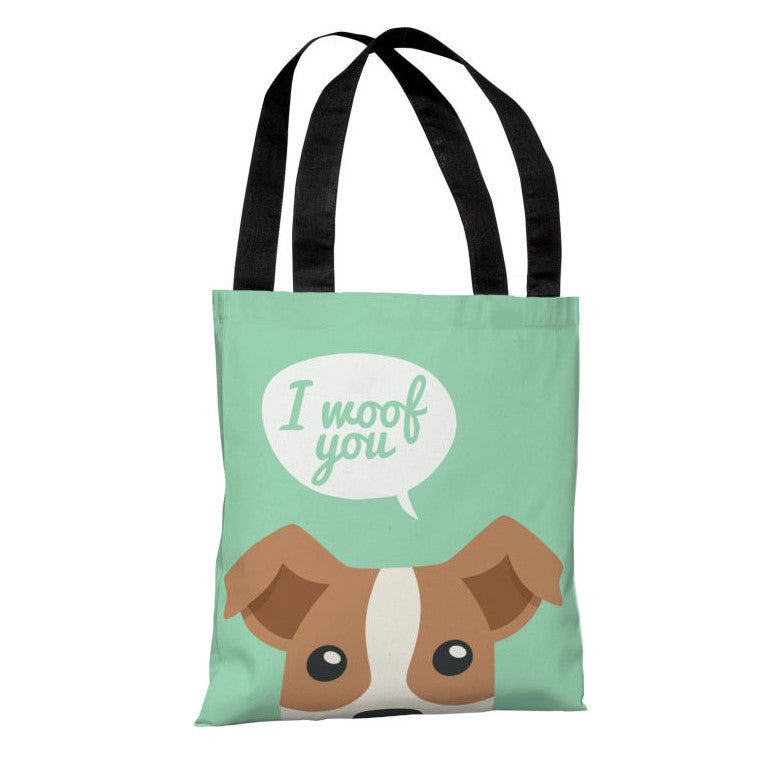 Peeking Terrier Tote Bag by OBC