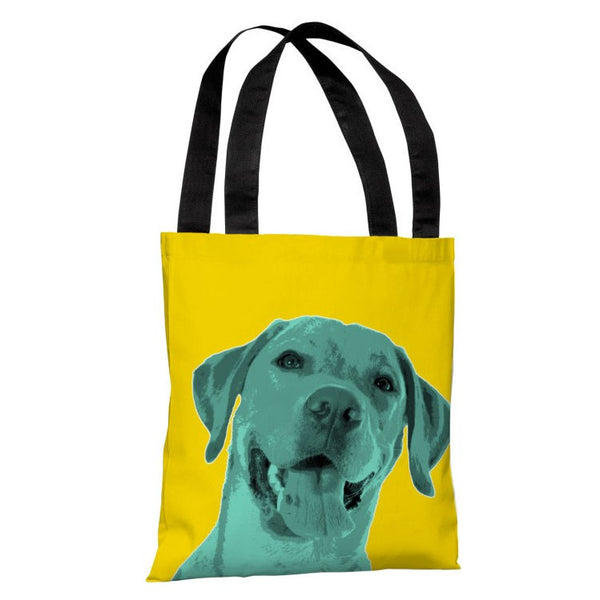 Whisker Dogs Lab Tote Bag by OneBellaCasa.com