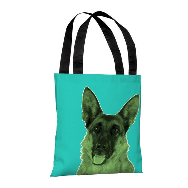 Whisker Dogs Shephard Tote Bag by OneBellaCasa.com