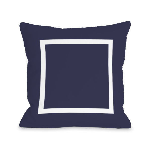 Open Box Midnight Outdoor Throw Pillow by OBC