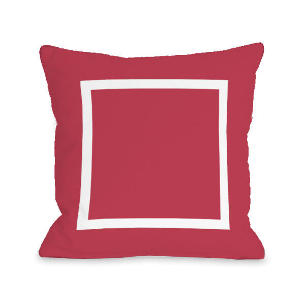 Open Box Rose Outdoor Throw Pillow by OBC