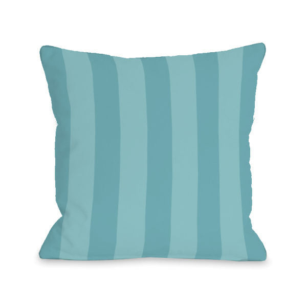 Stripey Sky Outdoor Throw Pillow by OBC