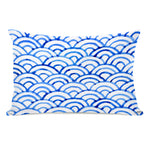 Scallop Ocean Throw Pillow by OBC