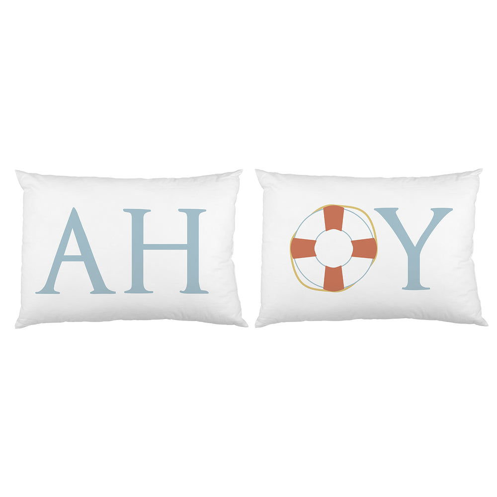 Ahoy Lifesaver Pillowcase Set By OBC