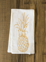 Golden Pine Tea Towel by OBC