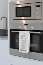 Hangry Kitchen Towel By OBC