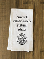 Relationship Status Tea Towel by OBC