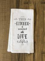 Seasoned With Love Tea Towel by OBC