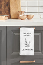 Soup Of The Day Kitchen Towel By OBC