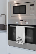They See Me Rolling Kitchen Towel By OBC