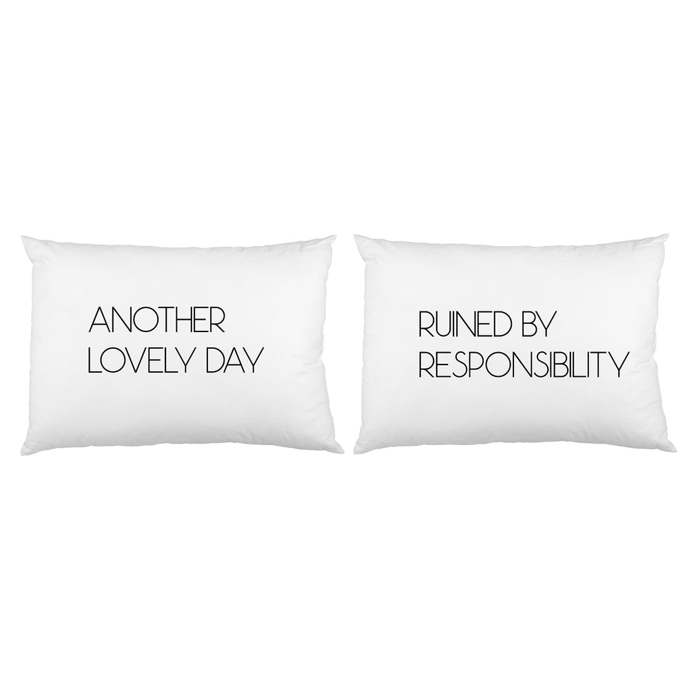Another Lovely Day Pillowcase Set By OBC
