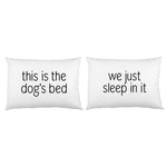 Dogs Bed Pillowcase Set By OBC